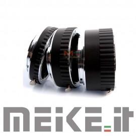 Tubi di prolunga MACRO AUTOFUCUS in Metallo per NIKON