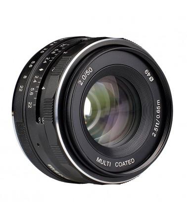 MK-50mm Obiettivo 50mm f/2 per Fuji X