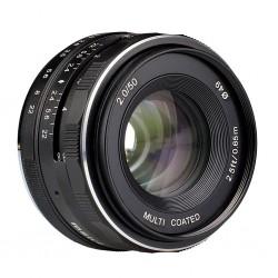 MK-50mm Obiettivo 50mm f/2 per Micro 4/3 MFT