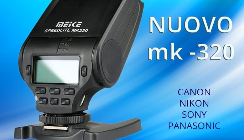 Flash da slitta mk-320 Canon