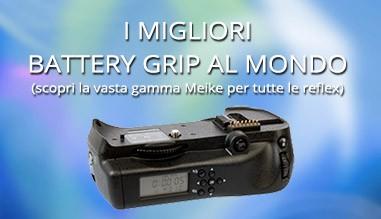 Battery Grip Meike per Fotocamere Reflex Digitali