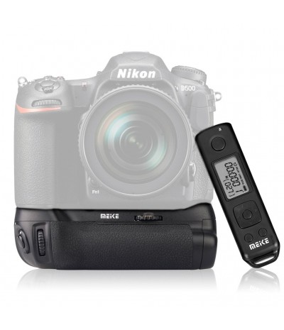 MK-DR500 Pro Battery Grip per Nikon D500 con Telecomando Wireless