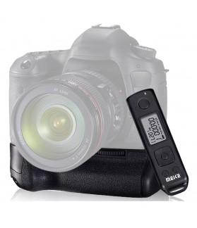 Meike Battery Grip BG-E8 con Temporizzatore e Telecomendo per Canon EOS 550D 600D 650D