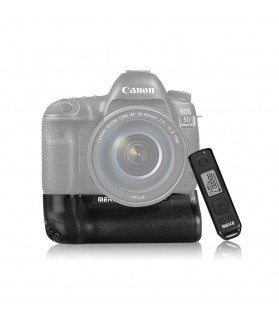MK-5D4 PRO Battery Grip per Canon Eos 5D Mark IV con Telecomando Temporizzatore Wireless